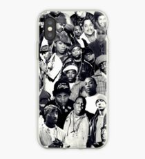 Vinilo o funda para iPhone Collage de Hip Hop Legends
