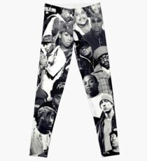 Hip Hop Legends Collage Leggings