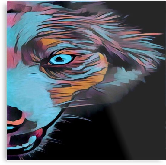 Gone Dog crazy. Modern,contemporary,painted, art by love999