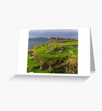 Midhowe Broch, Rousay, Orkneys Greeting Card