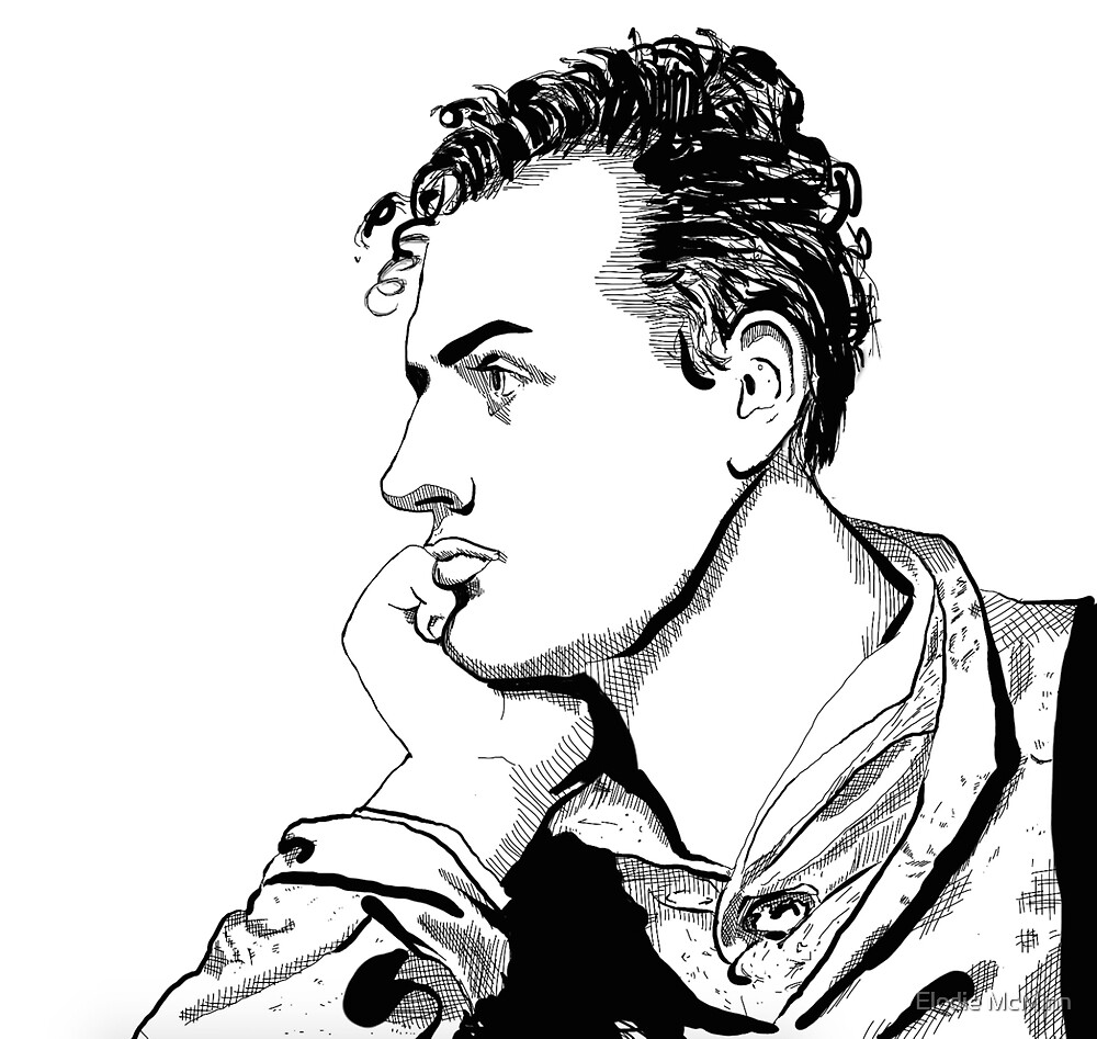 Lord Byron by Elodie McMinn