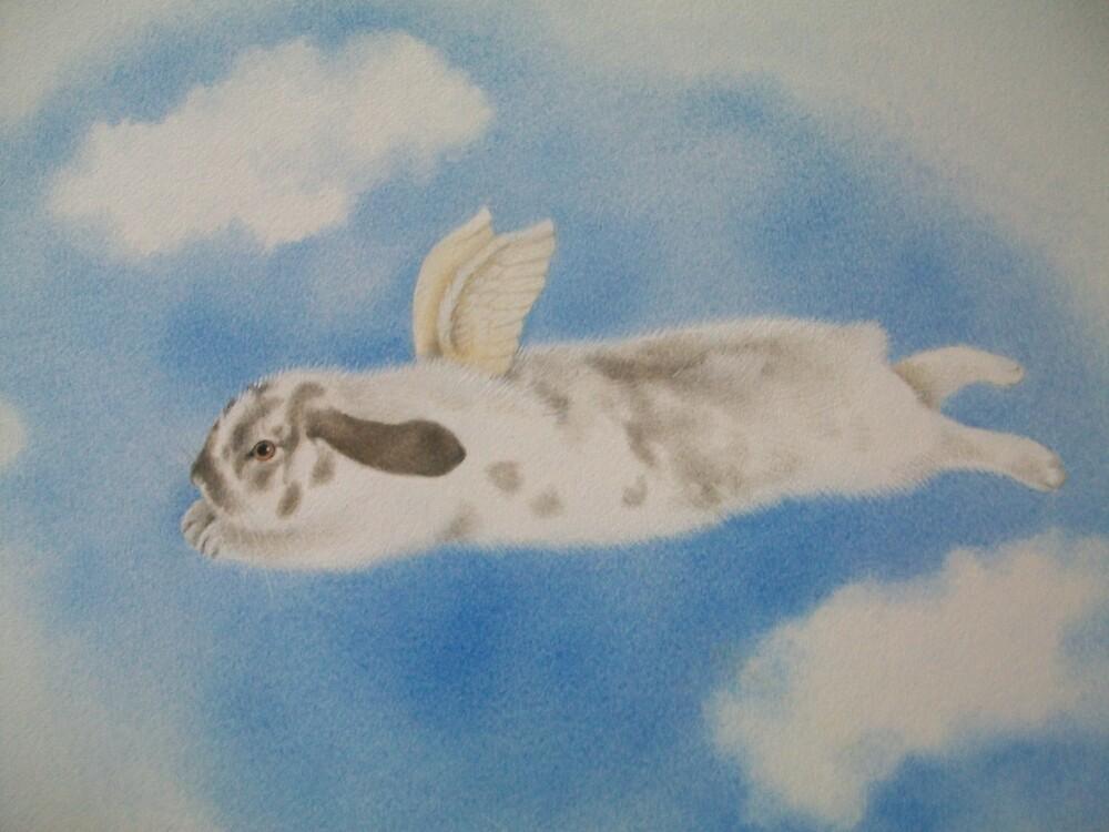 Bunny Heaven by louise Harrison