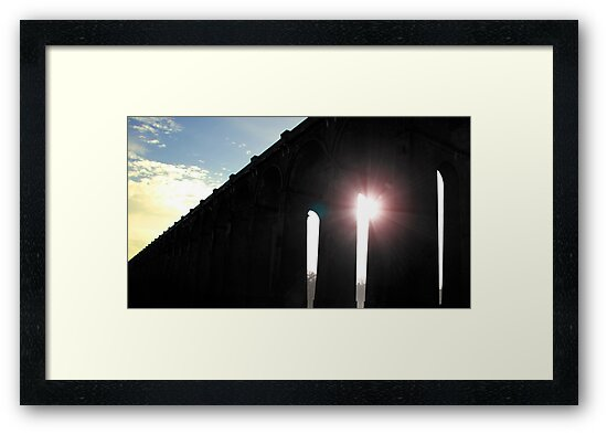 Balcombe Viaduct by WillowArtPrint
