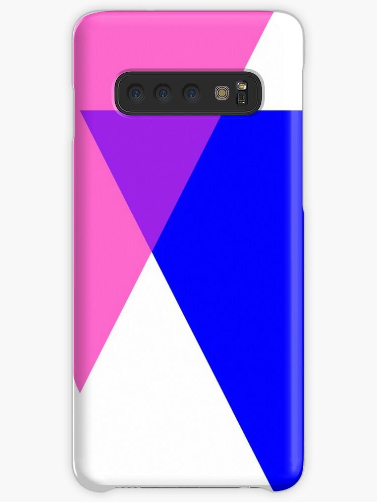 'Bisexual Pride Symbol- Triangles' Case/Skin for Samsung Galaxy by cadellin