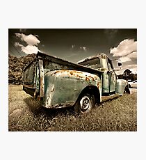 Abandoned 1951 Ford F-1 Photographic Print