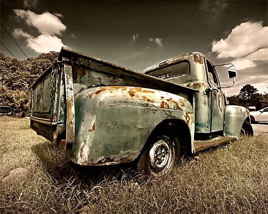 Abandoned 1951 Ford F-1 by mal-photography