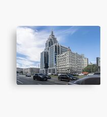 Two Architectural Styles. Cityscape Metal Print