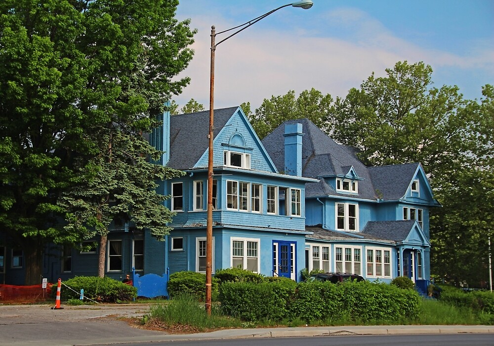 Old West End Blue 30- I by Michiale