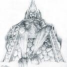 Morgoth Bauglir by Curtiss Shaffer