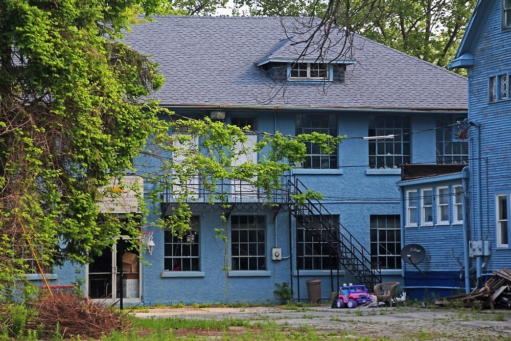 Old West End Blue 30- II by Michiale