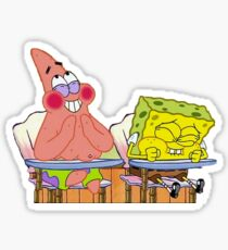 25 spongebob and patrick Sticker