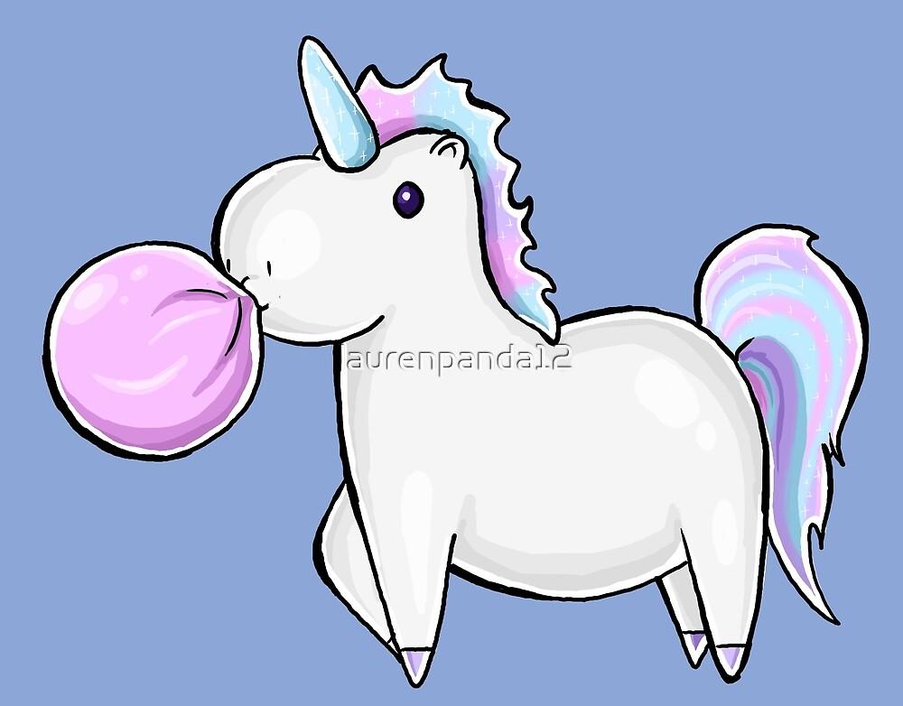 Bubblegum Unicorn by laurenpanda12