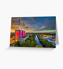 Skyline of Hannover Greeting Card