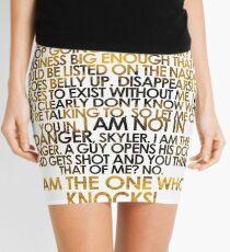 Breaking bad - Heisenberg Mini Skirt