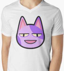 Camiseta para hombre de cuello en v BOB ANIMAL CROSSING