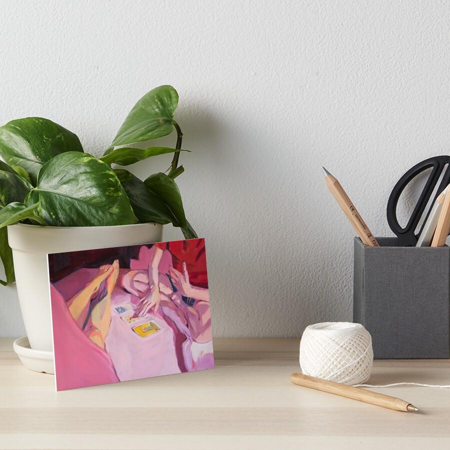 Tarot Art Board Print