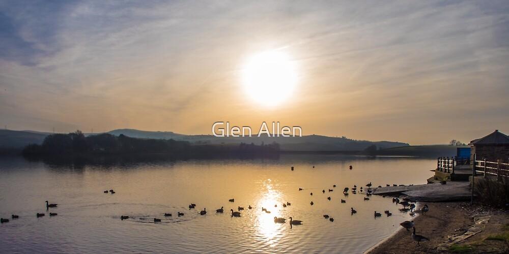 Sunrise over Hollingsworth Lake by Glen Allen