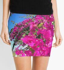 Bougainvillea - triple flower Mini Skirt