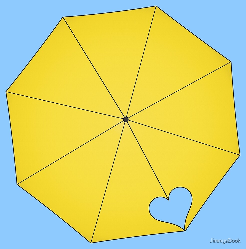 Yellow Umbrella – HIMYM design (alternate) by JimmysBook