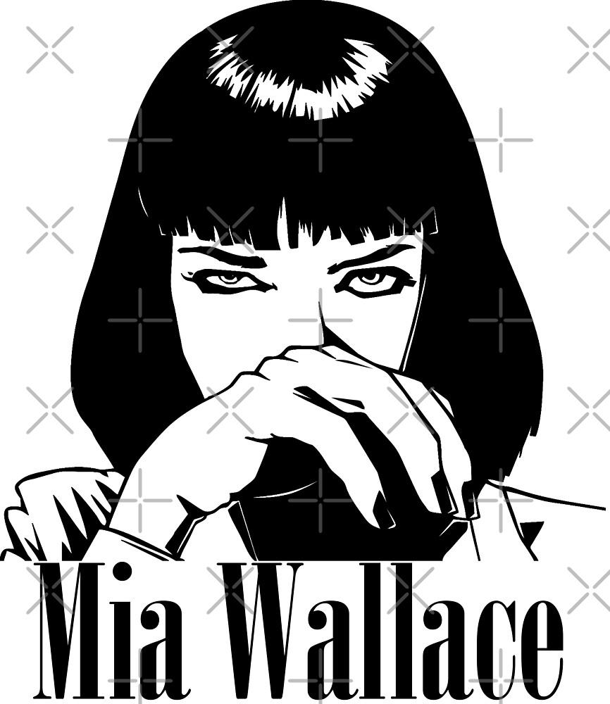 Mia Wallace by Mishmi