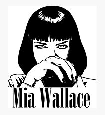Mia Wallace Photographic Print