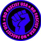 No fascist USA (blue) by Thelittlelord