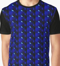 Diffused Blues Graphic T-Shirt
