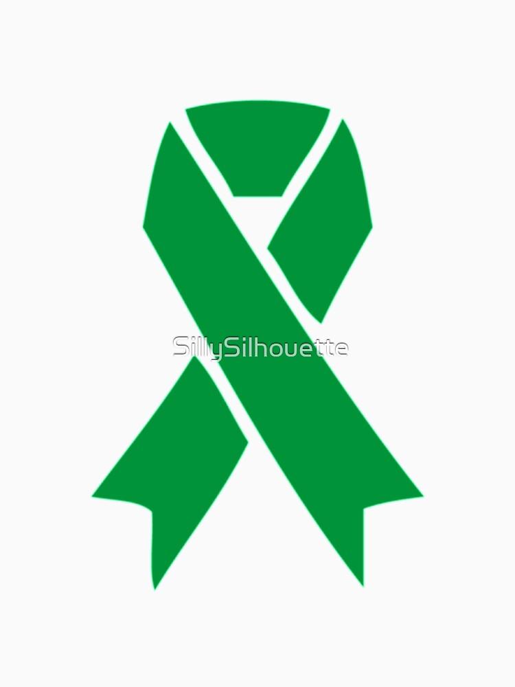 Mental Health Awareness Ribbon Single Unisex T Shirt By