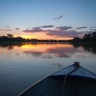 Sunset - Rio Pardo, Brazil by Eric Cook