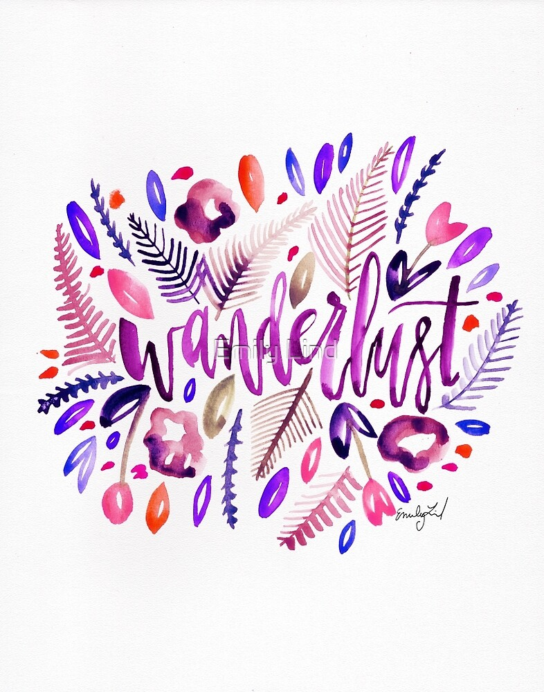 Pink Wanderlust by Emily Lind