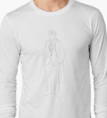 Sherlock - LineArt Long Sleeve T-Shirt