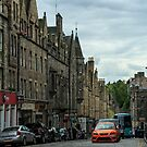 The Royal Mile, Edinburgh by fotosic