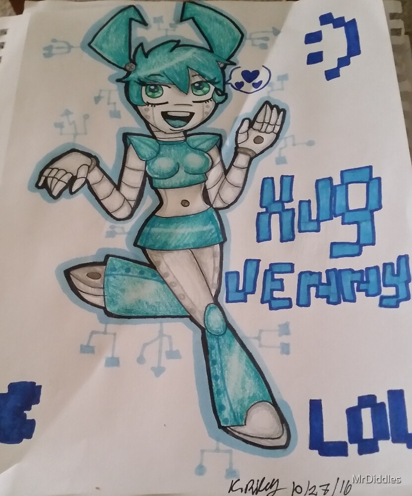 Jenny The Teenage Robot by MrDiddles