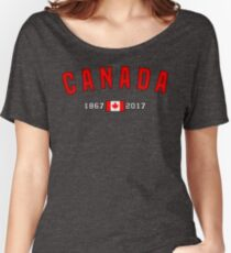 Canada 150 Anniversary Women's Relaxed Fit T-Shirt