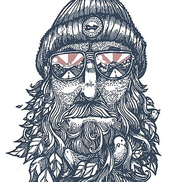 Captain Bird Beard shirt by teeturle