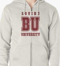 Bovine University - The Simpsons Zipped Hoodie
