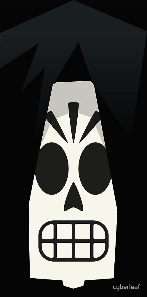 Grim Fandango - Manny Calavera (Grim Reaper version) by cyberleaf