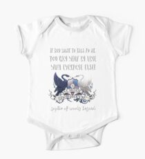 Sophie Of Woods Beyond Quote Kids Clothes