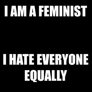 I am a feminist by thefunkydwarf