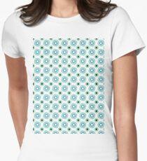 Abstract V Womens Fitted T-Shirt