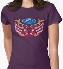 Cares Breast Cancer Women's Fitted T-Shirt