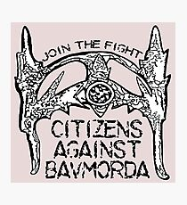 Citizens Against Bavmorda Photographic Print