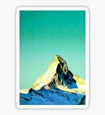 Vintage Matterhorn Switzerland Travel Sticker