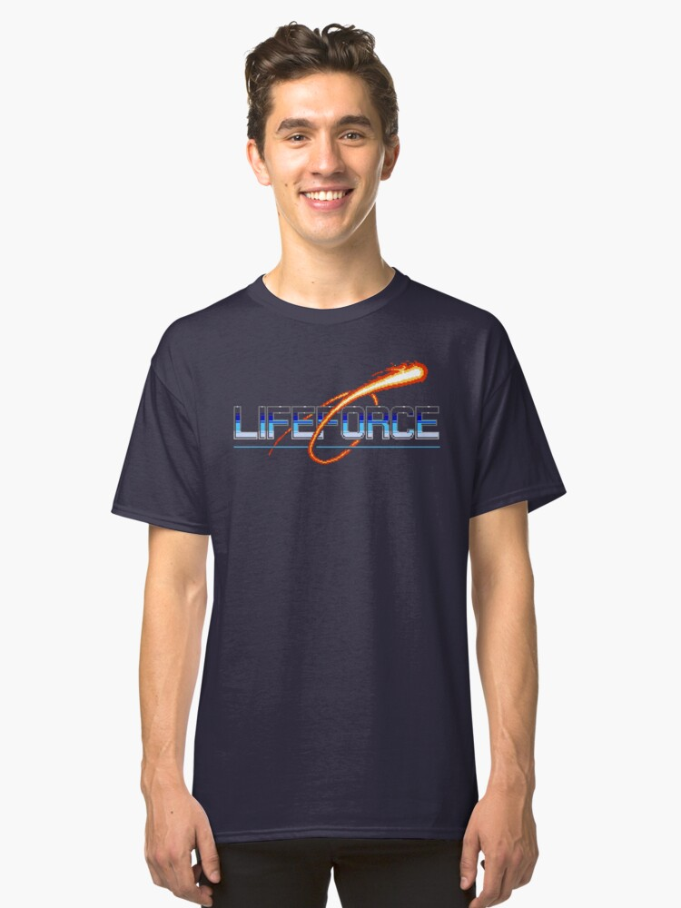 Life Force (NES Title Screen) Classic T-Shirt Front