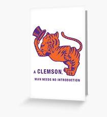 a clemson tigers best Greeting Card