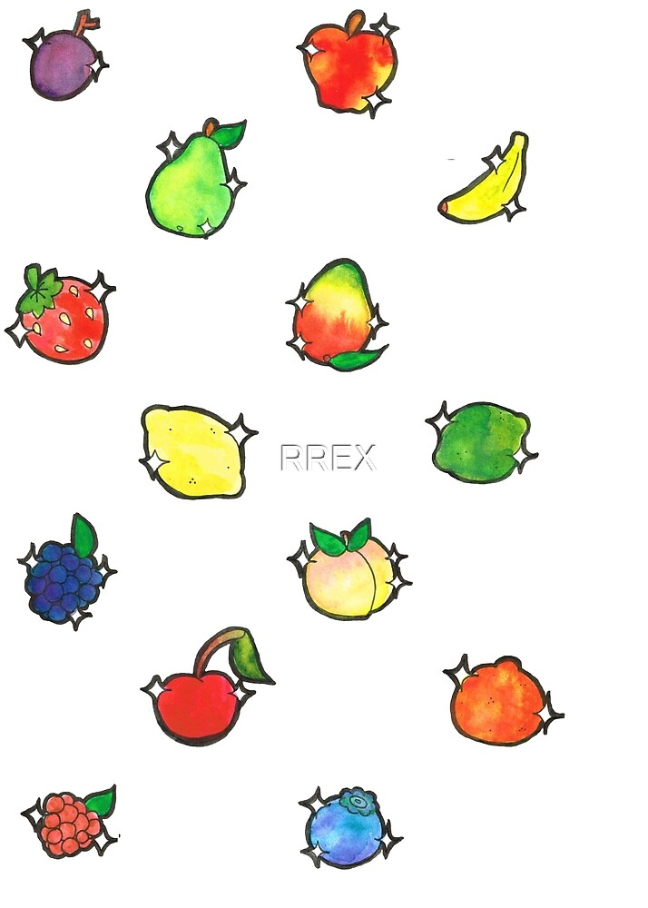 More Cutie Fruits by RREX