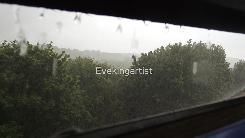Rainy days by Eve King