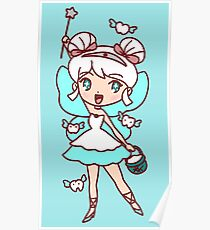 Tooth Fairy Girl Poster
