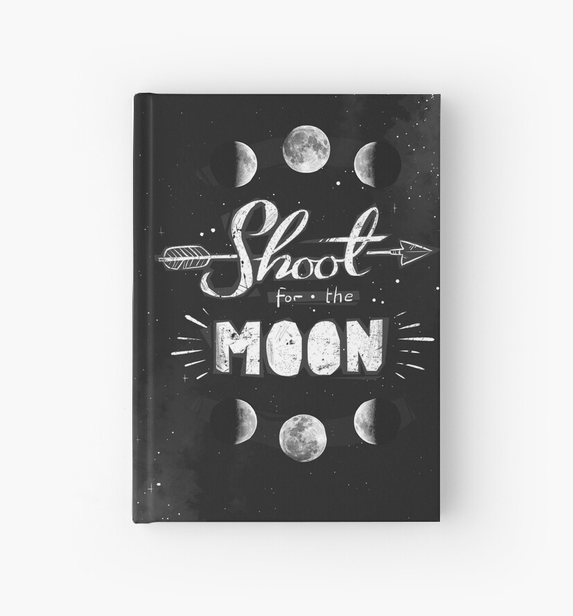 Shoot For The Moon! by Emma Porsbjerg