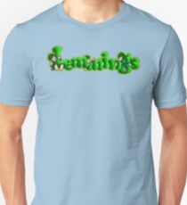 Lemmings (Genesis Title Screen) T-Shirt